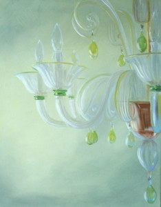 Clear Illuminatin Oi Painting by Austin Artist Amy Hillenbrand