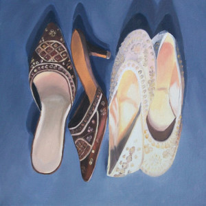 Two Choose-Oil Painting by Austin Artist Amy Hillenbrand web version
