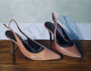 Simply Slings Oil Painting by Austin Artist by Amy Hillenbrand