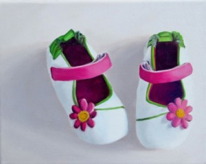 Little Pinkies Oil Painting by Austin Amy Hillenbrand (2)