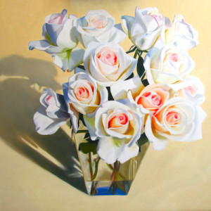 Big Bunch of Love Oil Painting by Artist Amy Hillenbrand