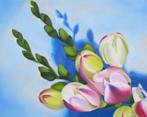 Hopeful Oil Painting by Austin Artist Amy Hillenbrand